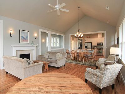 Photo for Cascade Cottage-Beautiful New Hm in Belhaven w/ Hot Tub & Luxury Furnishings