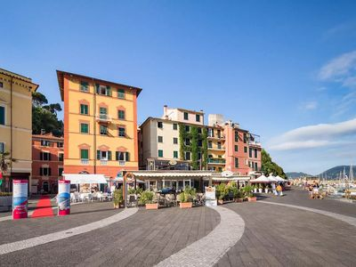 Photo for Lerici, Piazza Centrale, pedestrian area at the port
