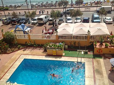 Photo for 2 bedroom Apartment, sleeps 5 with Pool and Walk to Beach & Shops