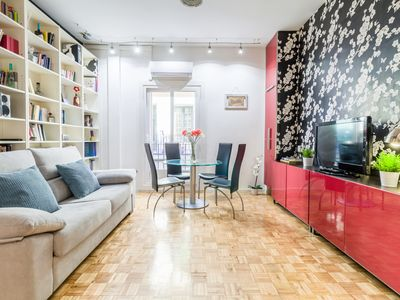 Photo for Plaza de España IV - Apartment for 4 people in Madrid