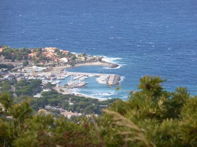 Photo for Charming apartment in secure residence. Impregnable sea view. Ideal couple