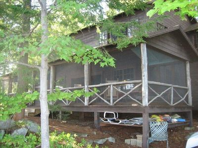 Photo for Steps from the Lake.... Spacious Squam Lake Home