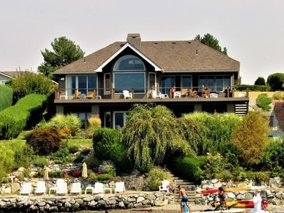 Photo for NEW RENTAL- Wapato Point, Lake Chelan Private Waterfront with Sandy Beach