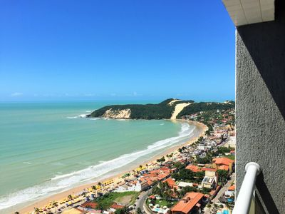 Photo for Excellent apartment overlooking the sea and Morro do Careca
