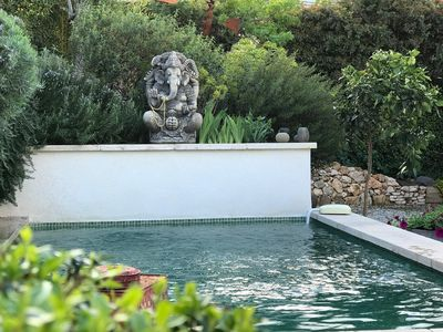 Photo for 64 Le Mazet en Provence with private heated pool and Mediterranean garden
