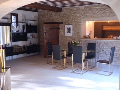 Photo for Provencal house with swimming pool and tennis