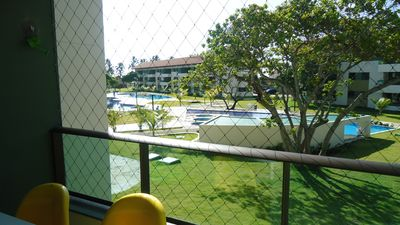 Photo for furnished apartment (1 room) - Carneiros Beach (sleeps up to 6 people)