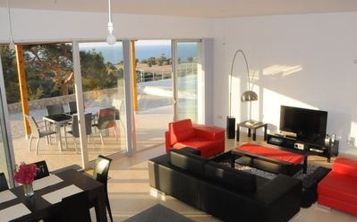 Photo for Designer villa, peaceful location by sea, near golf course. New: WIFI for free