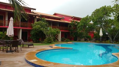 Photo for Beautiful Ap. Of 2q in Village w / pool in Imbassai Beach