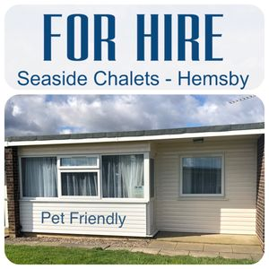 Photo for 117 Seaside Chalets - Hemsby.   FOR HIRE- PET FRIENDLY