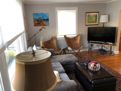 Photo for Newly renovated 3 BDR condo with parking; close to Cambridge and Boston