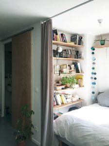 Studio renovated at the foot of the Olive Market - Near Montmartre