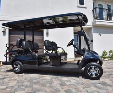 Golf Cart Included