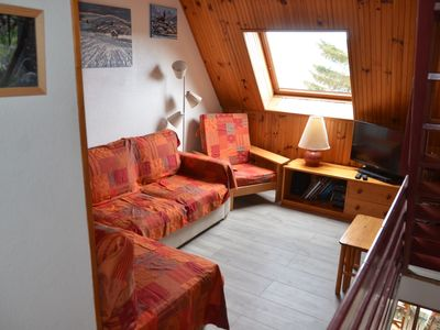 Photo for Chalet - Appt 6 pers + BB - Les Angles 66210 - Quiet on the edge of the forest