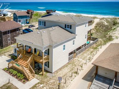 Photo for Sandfiddler | Oceanfront | Dog Friendly, Private Pool, Hot Tub