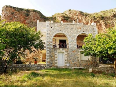 Photo for Villa in Areopoli with Air conditioning, Parking, Garden (646877)