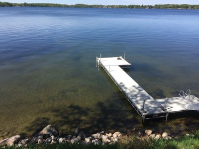 Beautiful lake home on one of the cleanest & clearest lakes with great fishing.
