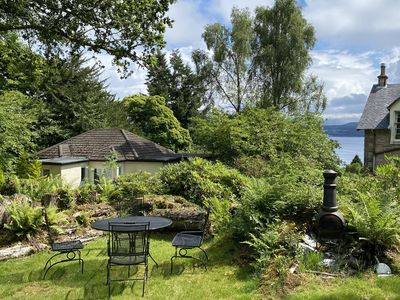 Photo for Seaview, two bedroom cottage set in three acres of beautiful garden woodlands!