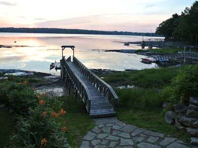 Photo for Enjoy sunsets overlooking Casco Bay and Wolfe's Neck State Park