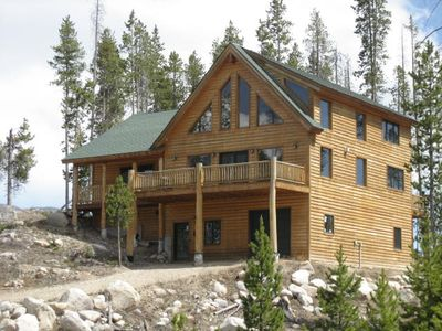 Photo for Inviting log home! Sleeps 16! Perfect getaway home for the large family!