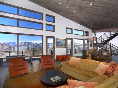 Photo for Stunning new construction mountain contemporary home with awe inspiring views!