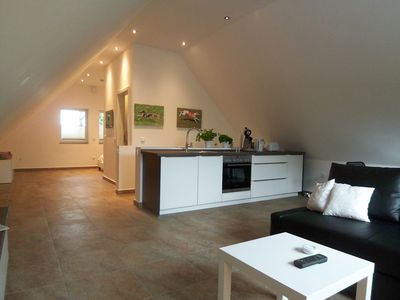 Photo for NEW 2015: apartment with 8000 sqm dog walkers, in Cottage, upper floor, 45sqm
