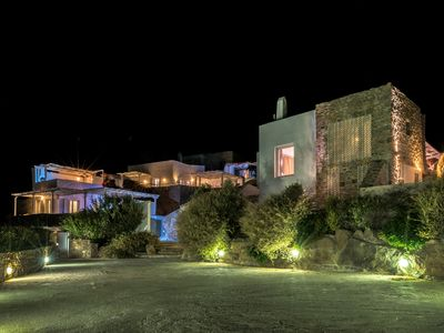 Night view of the the property