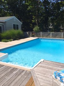 Photo for East Quogue Serene Lane with Pool decorated to meet your Hamptons Life Style