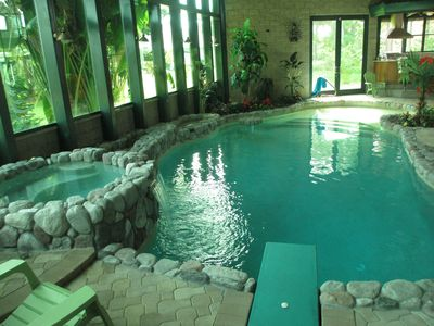 Photo for Golf Course Villa with indoor Salt water pool in S.W. Florida's Largest Marinam