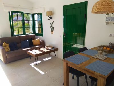 Photo for Beautiful beach apartment right on the El Cotillo lagoon beaches.