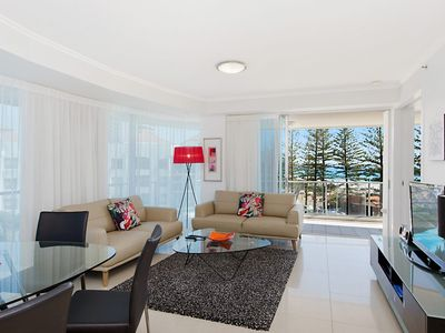 Photo for Reflections tower 2 Unit 401 - Beachfront, views and in a great location