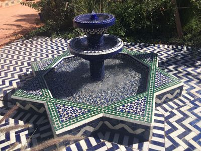 Photo for A Berber paradise in the countryside between Agadir and Taroudant, idyllic patio