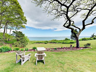 Photo for 2BR Cottage by the Sea in Woods Hole – Private Beach, Near Falmouth & Ferry