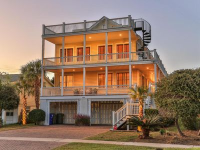 Photo for Ocean Air on Isle of Palms ~ PRIVATE POOL, OCEAN VIEWS, MULTIPLE PORCHES, GRILL