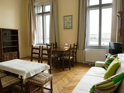 Photo for Chopin apartment in II Adyliget with WiFi & lift.