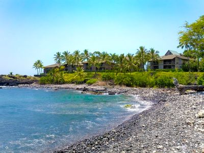 Photo for Beautiful oceanfront 6 br for 12 Heeia Bay Villa