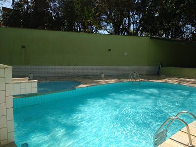 Photo for Coverage: 3 BEDROOMS + Air Cond. + Swimming Pool + Sauna = Suitable for up to 12 people Swimming pool