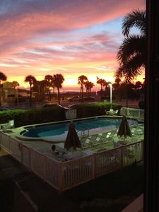 Photo for Cozy Family-Friendly Poolside Condo with Gorgeous Ocean-Front View - Sleeps 8