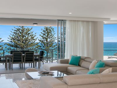 Photo for The Garland Unit 702 Beachfront Apartment in Rainbow Bay Coolangatta