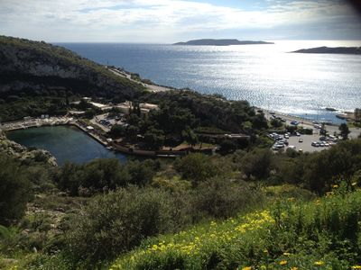 Photo for An island feeling - beautiful apartment in Vouliagmeni, South Coast of Athens