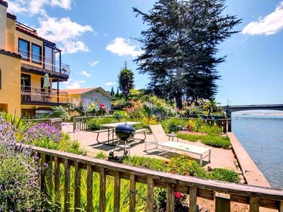 Photo for Riverview Condo in Capitola Village *River views! Steps to Capitola Village! Dog Friendly*