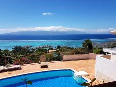 Photo for Blue Lagoon Villa By Tahiti Homes, Between Sky And Sea A Breathtaking View