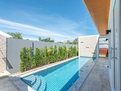 Photo for 3 BDR Pool Villa 3 Min Drive to Nai Harn Beach