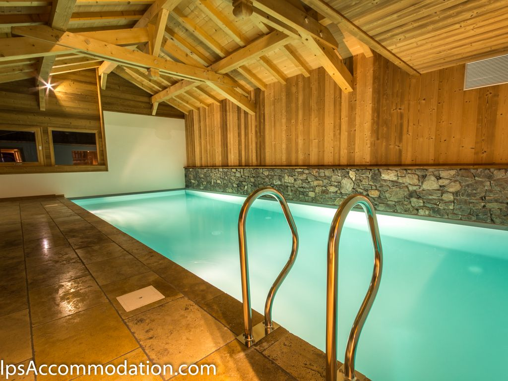 Private Indoor Swimming Pools chalet le strange - samoens: stunning, large 350m2 luxury chalet