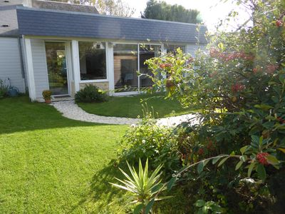 Photo for Comfortable house in the heart of Bayeux with garden and private garage
