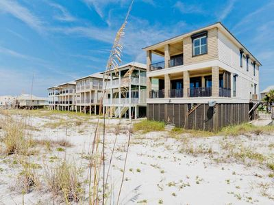 Photo for AMAZING Beach Views! Beachfront Home in Gulf Shores | Perfect for Events!