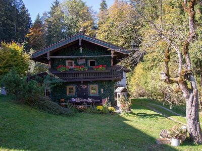 Photo for Romantic holiday home at the edge of the forest, ski lift at 500 meters