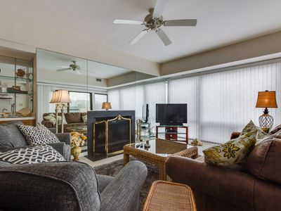 Photo for Wild Dunes condo w/ beachfront views & shared pool, hot tub & grilling area!