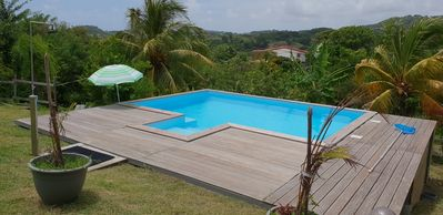 Photo for Villa with Pool F2 south Martinique between mountain and sea