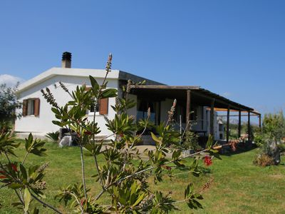 Photo for Country house with sea views and large garden.